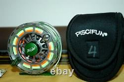 2018 Fenwick World Class 804-4 Fly Outfit withrod, reel & fly line (GREAT COMBO!)