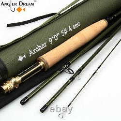 7'/8'/9' Fly Rod 3 4 5 8WT Fast Action Fly Fishing Rod Fly Reel Fly Line Combo