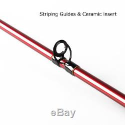 8WT Fly Rod Combo 9FT Fly Fishing Rod CNC Machined Fly Reel and Line Backing