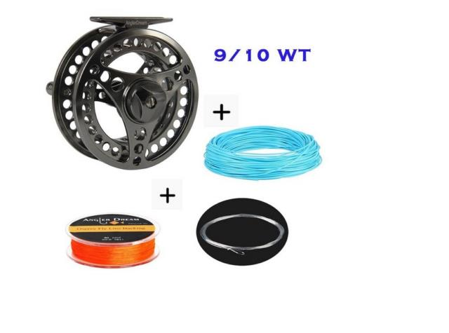 9/10 Fly Fishing Kit Trout Salmon Fly Fishing 9/10 Fly Reel & Line Combination