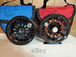 Abel Fly Reel Super 6 Combo Reel with spare spool
