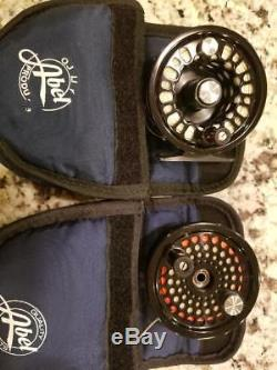 Abel Super 5 Fly Reel Combination with a Big game #2 Extra Spool