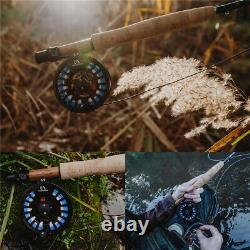 Amigo 4/5/6/7/8wt 9ft Fast Action Fly Fishing Rod and Reel Combo Kit