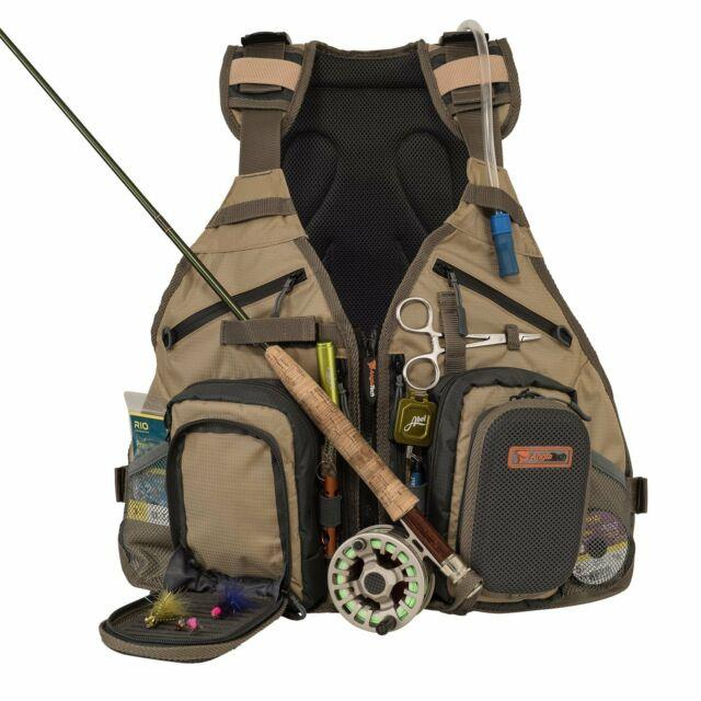 Anglatech Fly Fishing Backpack Vest Combo Chest Pack For Tackle Gear