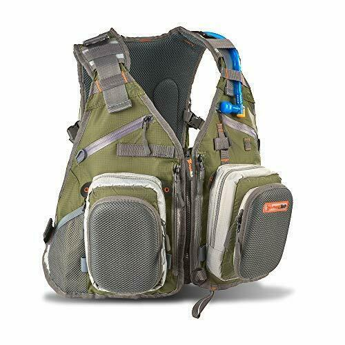 Anglatech Fly Fishing Backpack Vest Combo Chest Pack For Tackle Gear And Accesso