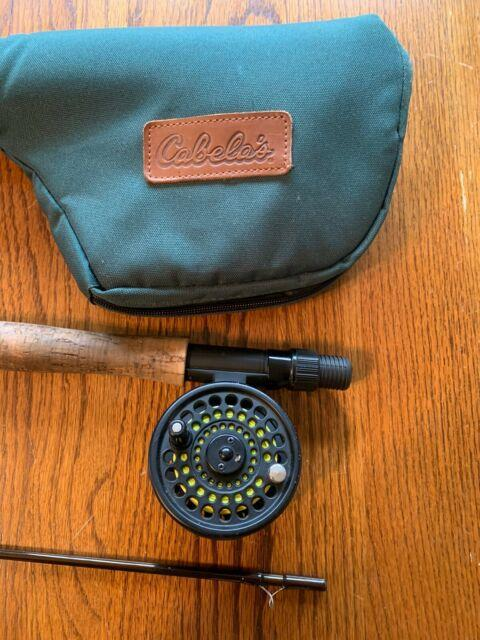 Combination Fly Rod / Reel Two-piece 8.6 Ft. Withcabelas Carry Case. A Classic