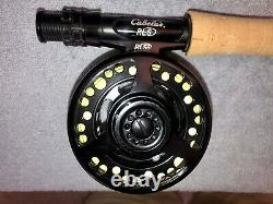 Cabela's #905-4 RLS 9 foot 5 weight 9-ft 5-wt 4 pc fly rod reel combo + Case
