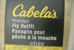 Cabela's Prestige Fly Outfit 906-4 9' 6WT 4PC