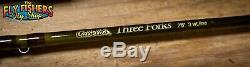 Cabela's Three Forks 3wt 7'6 3 Piece Fly Rod and Reel Combo Outfit