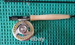 Cabelas #905-4 RLS+ 9 foot 5 weight 9-ft 5-wt 4 pc fly rod reel combo