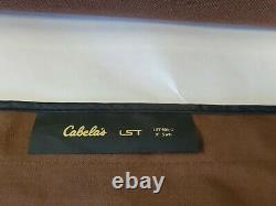 Cabelas LST 905-2 9 5 wt 6/7 wt 2 Piece Fly Rod COMBO with3 tip sections case