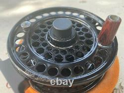 Charlton 3450C Fly Reel Full Set With All Spools