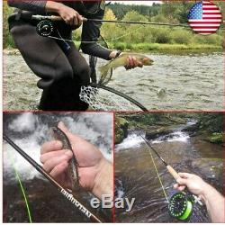 Complete Fly Fishing Rod and Reel Combo Complete Starter Kit (fly fishing combo)