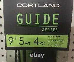 Cortland Guide Series Combo Outfit 9 ft 5 Wt Complete WithCase