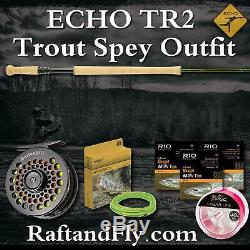 ECHO TR2 4wt Trout Spey Outfit Combo Battenkill, Lazar, iMOW, Airflo