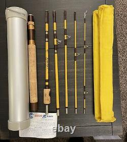 Eagle Claw Trailmaster TR601-6ft 9in Spin Fly Combination Fishing Rod 6pc RARE
