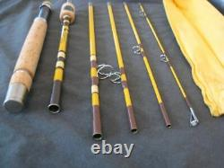 Eagle Claw Wright McGill Trailmaster Spin/Fly Combo Pack Rod 7'6 6Pc Tube M