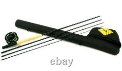 Echo Lift 590-4 Fly Rod Outfit 9' 5wt New