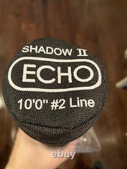 Echo Shadow 2 (2 Weight) Euro Nymph Fly Rod Combo