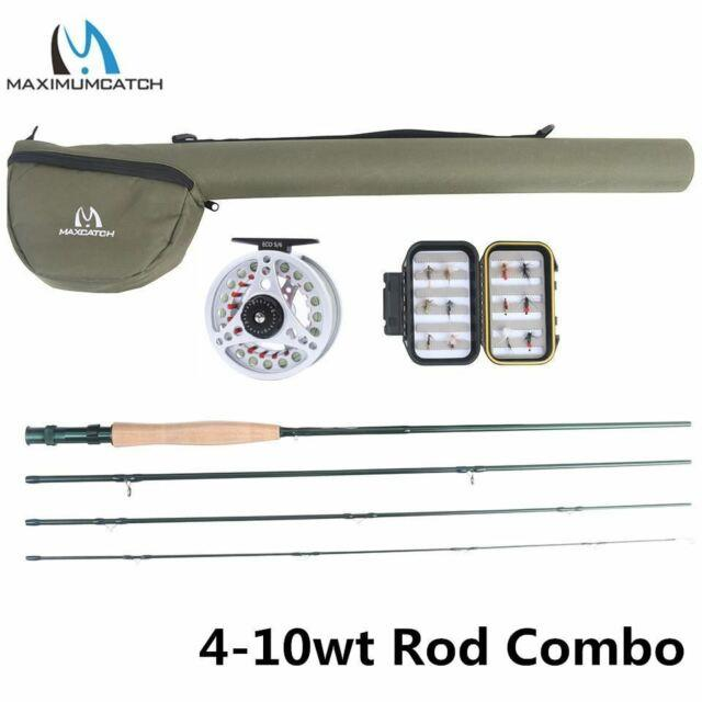 Extreme 8/9/10ft 3-8wt Medium-fast Carbon Fiber Fly Rod With Graphite Reel & Fly