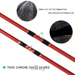 Fly Fishing Combo 3/4/5/8WT Carbon Fiber Fly Rod CNC Machined Fly Reel Outfit