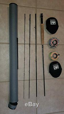 Fly Fishing Combo Sage Approach Rod, Waterworks Lamson 2.0 Reel 9' 5 wt withLine