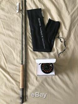 Fly Fishing Diawa 3pc 5wt, TFO NXT Reel With Line Combo