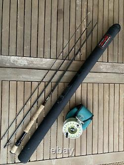 Fly Fishing Rod And Reel Scott 12 Wt And Tibor Gulfstream