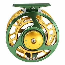 Fly Fishing Rod Reel Combos with Lightweight Fly Fishing Full Kit 5-6#-Green