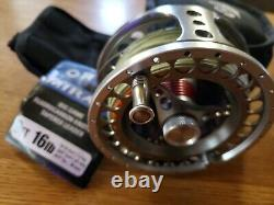 Fly Rod/Reel Red Truck Sealed Drag Combo 7-10 Weight New Never Fished LINE 8Wt