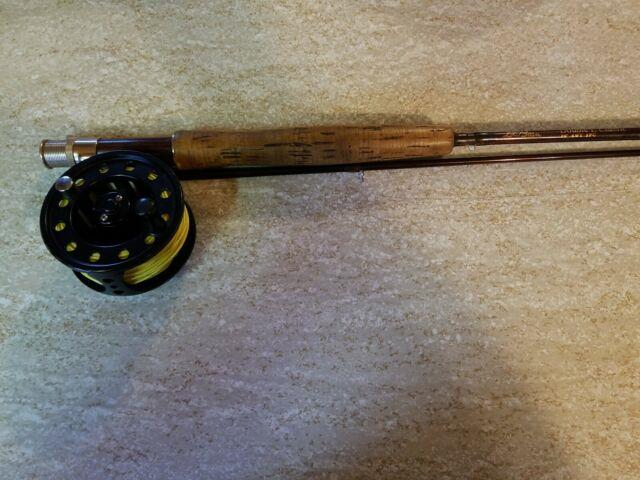 Fly Rod Combo Ll Bean Rod And Cabela's Reel Used