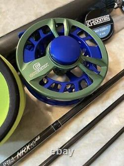G Loomis NRX+ Saltwater with Cheeky 475 Limitless Fly rod and reel combo