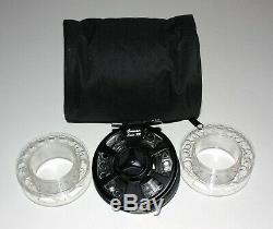 Genwair Fly Reel Combo Cassette Fly Fishing Reel With 3 Cassette Spools & Case