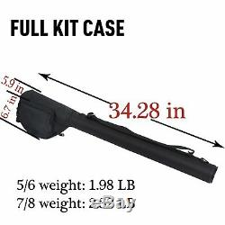 Goture Fly Fishing Rod and Reel Combos Fit Saltwater Freshwater 5/6 and 7/8 for