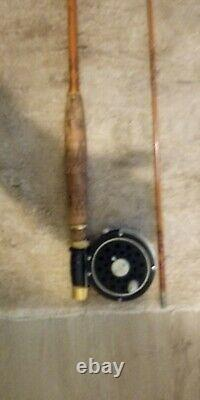 Johnson Profile 800 Series Fly Rod And Medalist reel 8f76lc model slightly used