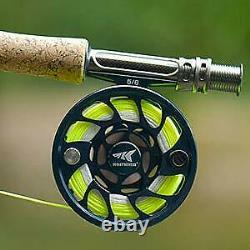 KastKing Anglers of Honor Fly Combo 4 Wt -8'6'' MF Fly Rod(9+1), 3/4 Reel