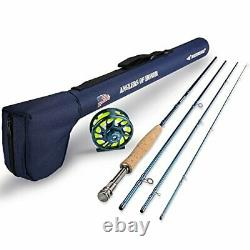 KastKing Anglers of Honor Fly Fishing Combos6 Wt9ft MF Fly Rod5 and 6 Reel