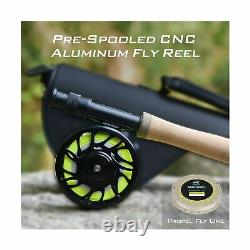 KastKing Ascension Soloscopic Fly Rod and Combos, IM6 Graphite Blank, Fixed &