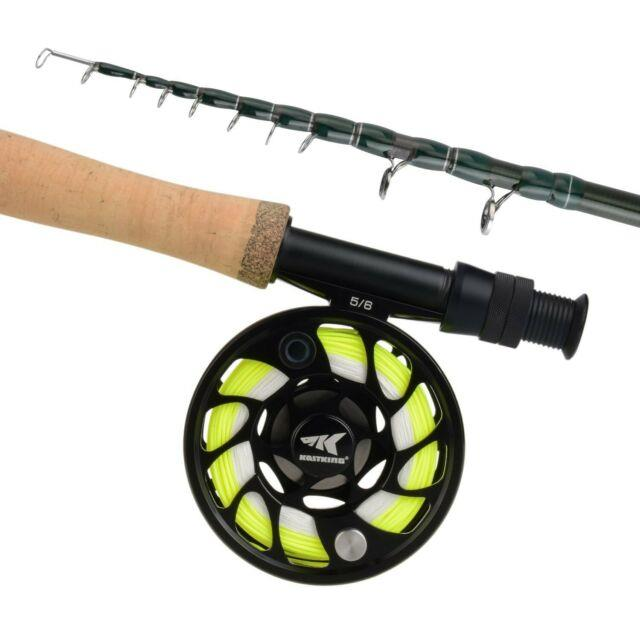 Kastking New Ascension Soloscopic Fly Rod And Combos, Im6 Graphite Blank, Fix