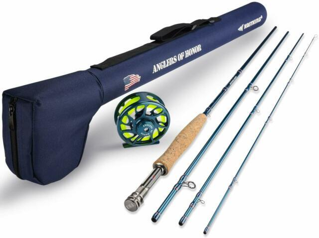 Kastking Anglers Of Honor Fly Fishing Rods Combos, 4 Pc Graphite Fly Rod Blank