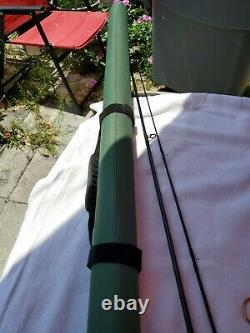 LL Bean Fly Fishing Rod 8'6 6wt 2pc, Reel Angler #1 NEW. Carry Case w Zip Green