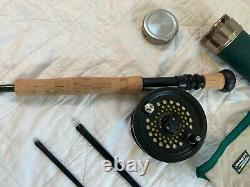LL Beans 12wt SPT fly rod with well matched reel and line, excellent condition