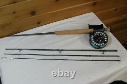 L. L. Bean Silver Ghost S. G. #5 Fly Reel On Matching L. L. Bean 9' 12wt 4pc Rod