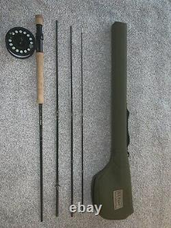 L. L. Bean Streamlight #3 Reel on matching 4 Piece 9wt 9ft Rod with Case