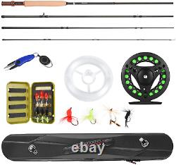 Magreel Fly Fishing Pole, Fly Rod And Reel Combo With Portable Lightweight 4 Pie