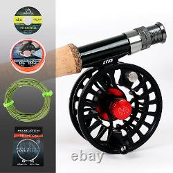 Maxcatch 9' Premier Fly Fishing Rod and Reel Combo Complete Outfit Starter Kit
