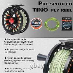 Maxcatch Amigo Fly Fishing Rod and Reel Combo 9FT 4-Piece 4/5/6/7/8wt Complete