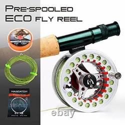 Maxcatch Extreme Fly Fishing Combo Kit 3/5/6/8 Weight, Starter Fly Rod and Reel