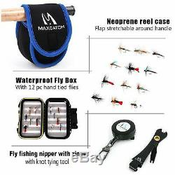 Maxcatch Extreme Fly Fishing Rod Combo Kit 3/4/5/6/7/8wt, Fly Rod and Reel Outfit