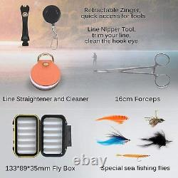 Maxcatch Predator Big Game and Saltwater Fly fishing Rod Combo Kit 8-10wt, 4pcs